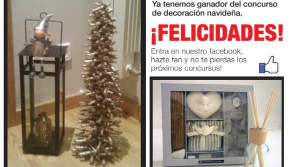Y la ganadora del concurso navide o es - Camino a casa outlet ...