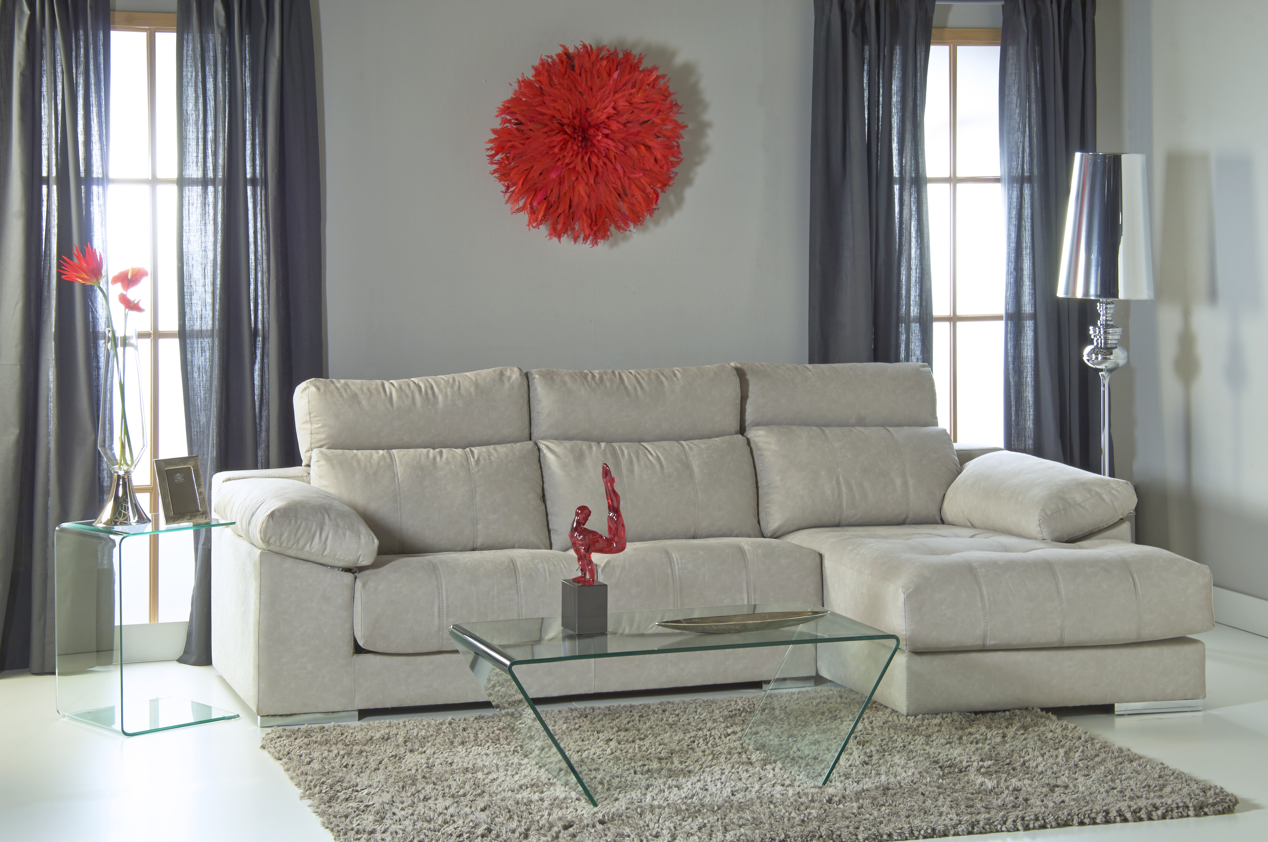 Ventajas de un sofá chaiselongue